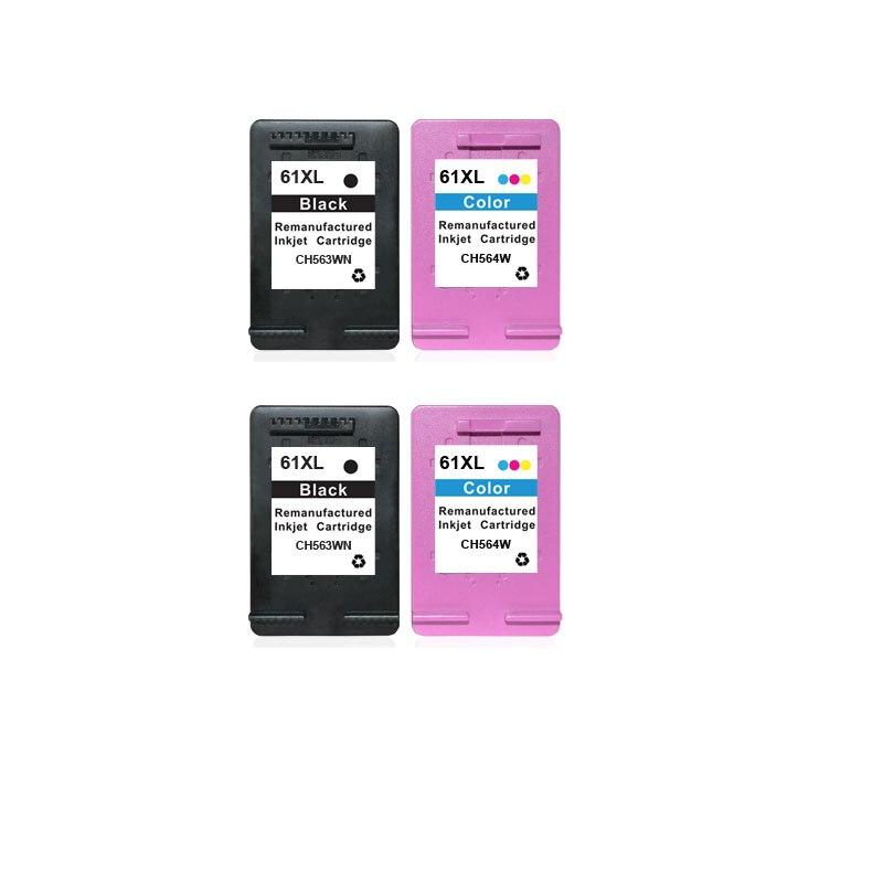 5 Pack HP 61 Ink Cartridge Deskjet 1055 Deskjet 3000 Deskjet 3050 Printer