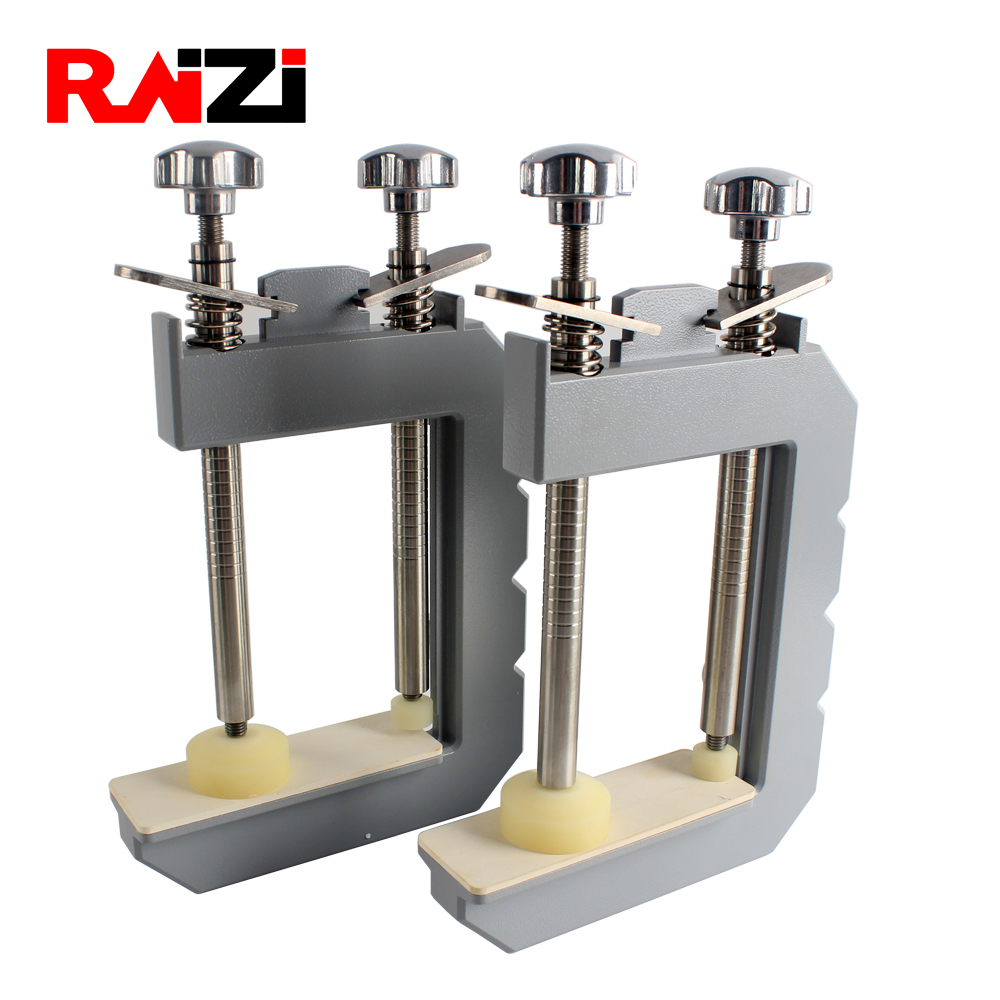 Raizi 2 Pieces Granite Mitre Clamp For Stone, Install Tooling Tools For Stone Slab Stitching