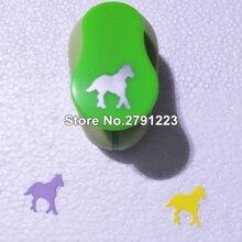 В форме лошади пены eva экономии энергии удар бумаги удар для поздравительной открытки ручной работы Скрапбукинг DIY игрушка из джинсовой ткани