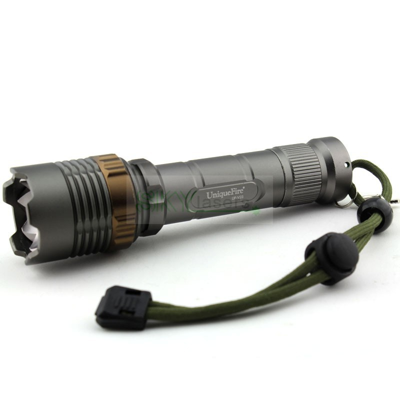 Best Quality Sharp Attacked Head UniqueFire UF-V23 1800 Lumens Zoomable 5-Modes 1* Cree XM-L U2 LED Zooming Flashlight Torch