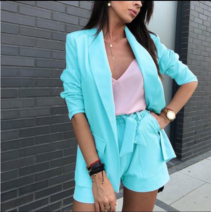 Suit Shorts And Jacket Women Suit Shorts Jacket Short Suit
