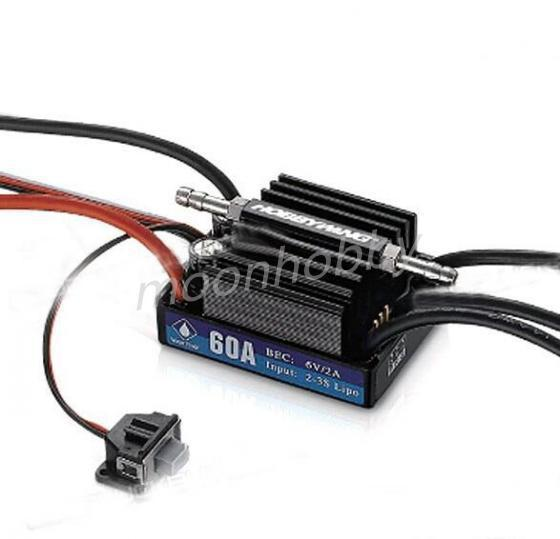 Hobbywing Seaking 60A V3 Electronic Speed Controller ESC for RC Boats free shipping with tracking free shipping feike da skyrc toro 8s 150a model car brushless esc electronic speed control