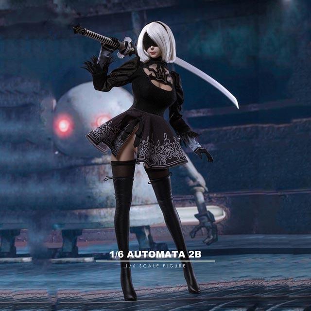 PS4 Game 1/6 NieR: Automata 2B YoRHa No. 2 Type B Girl