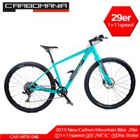 Carbon bicicletas mountain bike 29er 1×11speed carbon mtb XC bicycle variable speed Double disc brakes Downhill mountain bikes