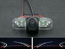 цена на 1080P Fisheye Lens Trajectory Tracks Car Rear view Camera For Honda Spirior 2009 Europe Accord waterproof Backup Reverse Camera