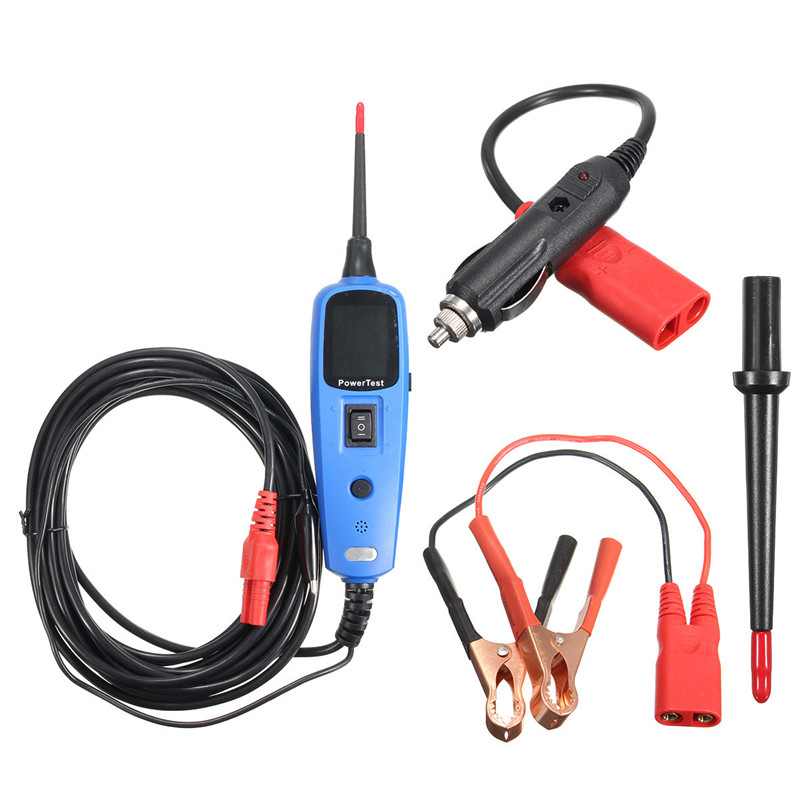 ФОТО Power Probe Car Electric Circuit Tester Automotive Tools Power Supply Testing Electrical System Tester Diagnostics