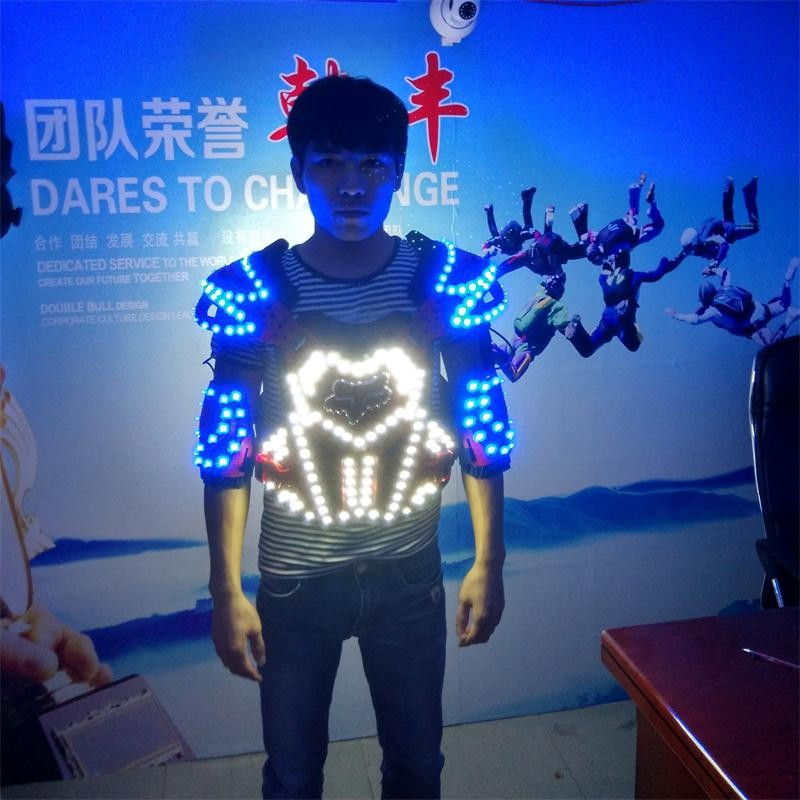 LED armor costumes 013