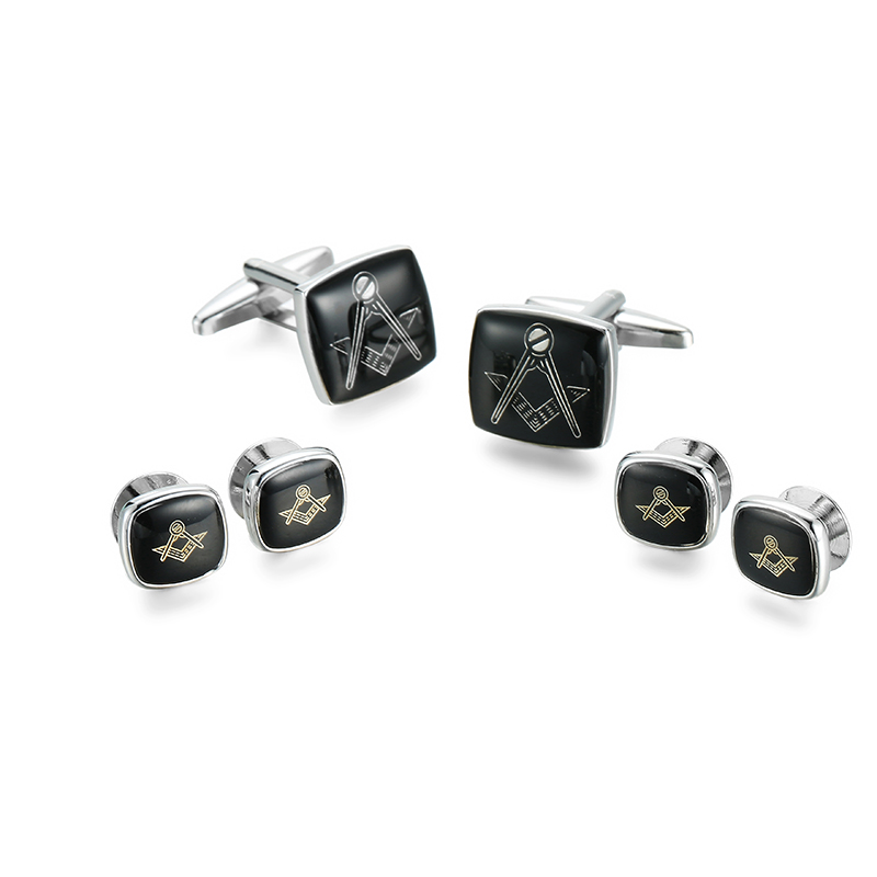 High Quality Masonic Cufflinks French Shirt Clothing Accessories Classic Masonic Cufflinks Aromatic Character And Agreeable Taste