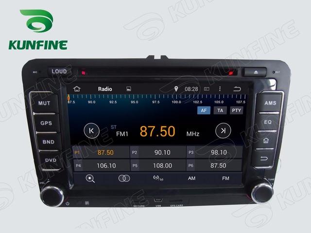 Quad Core 1024*600 Android 4.4 Reproductor de DVD Del Coche de Navegación GPS Estéreo Del Coche para VW 2006-2012 Radio 3G Wifi Bluetooth