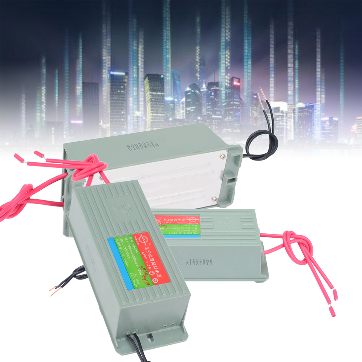 1pc 50/60Hz 20-120W Neon Electronic Transformer HB-C10 10KV 30mA Neon Power Supply Rectifier 10kv 30ma high frequency neon electronic transformer 100w load 10m neon power supply rectifier 220v ac