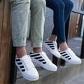Новые Люди обувь 2016 кожа повседневная обувь пары обуви круглая голова с плоской обуви студент обувь calzado депортиво теннис женщина для