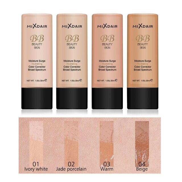 MAXFASFER Primer Makeup  Foundation Liquid  Moisturizer Waterproof Whitening Concealer Brighten matte Long lasting Cosmetic 3