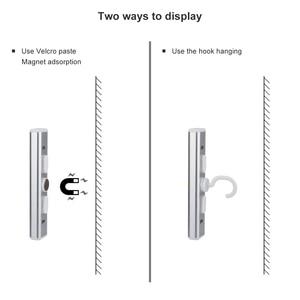 Image 4 - Eletorot LED Wardrobe Night Light Magnetic COB Battery Powered Cabinet Closet Wireless Night Lighting Car Repair Lamp
