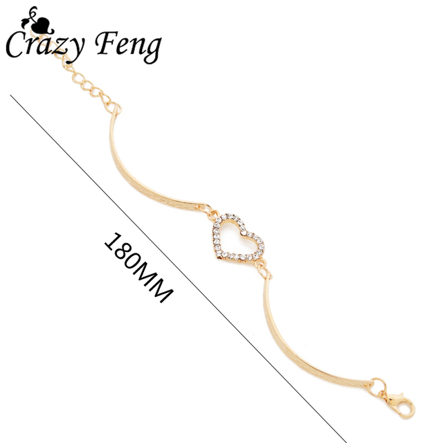 Heart Shaped Charm Bracelet 2
