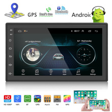 2din android radio car multimedia Player MP5 Autoradio 7'' Touch screen GPS Bluetooth FM WIFI auto audio player stereo receiver swm a2 2din 7 touch screen android 8 1 car radio stereo video mp5 player gps navi bluetooth wifi usb tf mp4 multimedia player