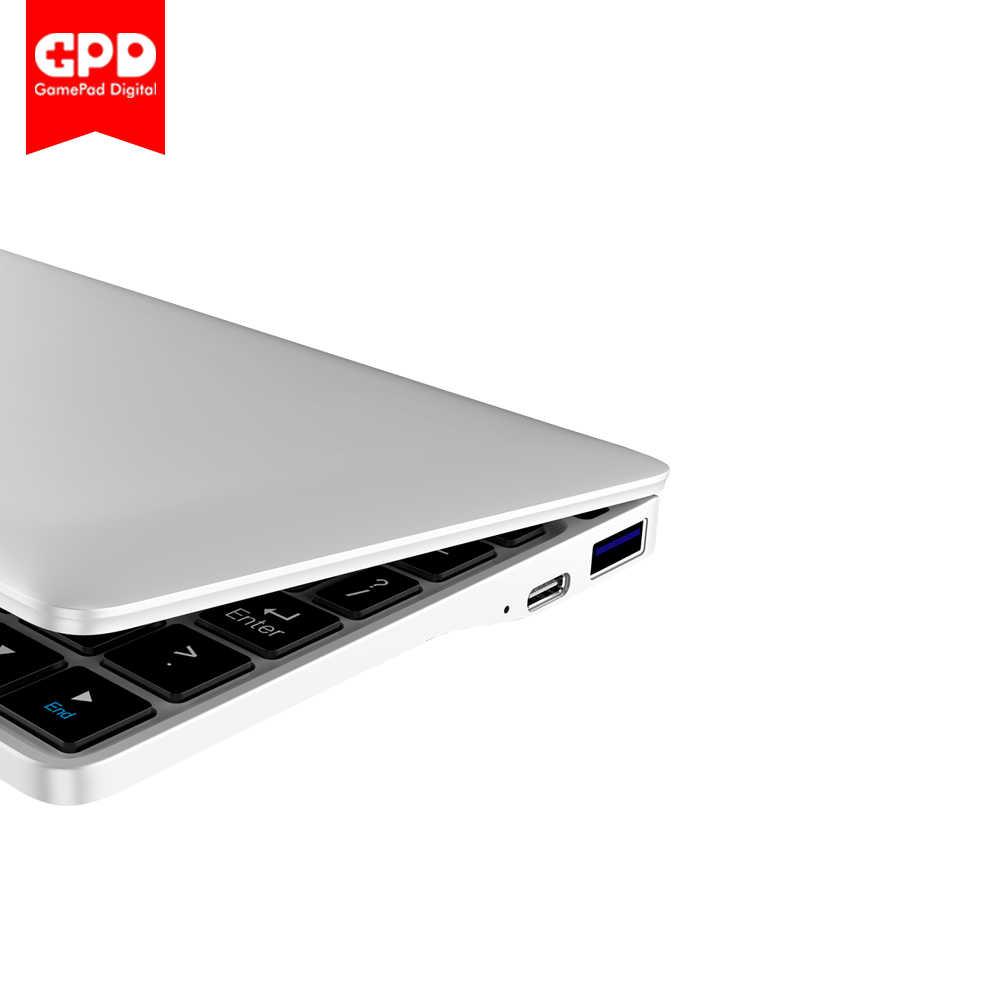 Новый оригинальный GPD Pocket2 Карманный 2 7 дюймов Мини карманный ноутбук UMPC Windows 10 система cpu m3-8100y 8 ГБ/128 ГБ