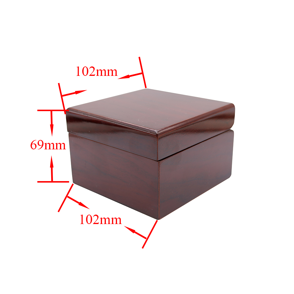 CARLYWET Wholesale Fashion Luxury Wood Watch Box Jewelry Storage Case Gift Box With Pillow For Rolex Omega IWC Breitling Tudor