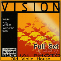 Original Thomastik Vision (VI100)4/4 Violin Strings Set Medium, full set,made in Austria ,Hot sell