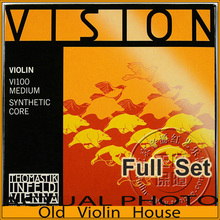 Thomastik Vision (VI100)4/4 Violin Strings Set – Medium, full set,made in Austria ,Free shipping