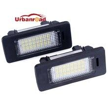 2 шт. дневные ходовые огни 12V белый 6000K Светодиодные номерные знаки светильник номер Lience лампа для bmw e60 E82 E90 E92 E93 M3 E39 E60 E70 X5 E39 E60 E61 M5