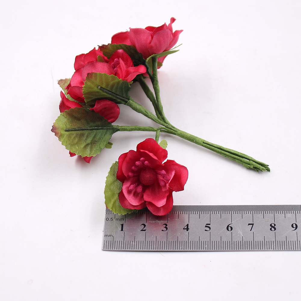 6pcs silk sakura artificial poppy flower bouquet wedding home 6pcs silk sakura artificial poppy flower bouquet wedding home decoration diy wreath scrapbook handicraft craft fake flower in artificial dried flowers mightylinksfo