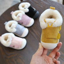 New winter baby shoes first walkers boy Non-slip Kids Boots