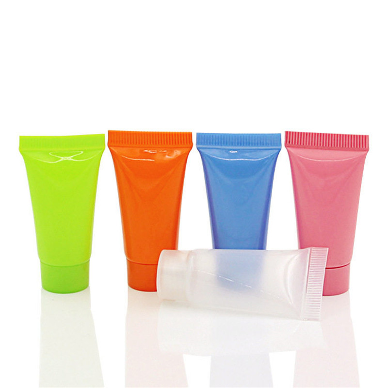 10Pcs/Lot Empty Refillable Bottles Cosmetic Containers Travel Empty Tube Cosmetic Cream Lotion Shampoo Bath Containers