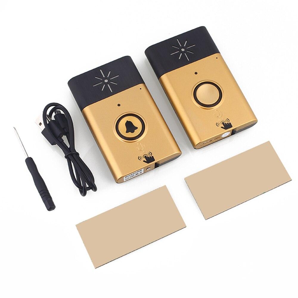 Giantree 300m Range Wireless Voice Intercom Wireless Doorbell Home Security Outdoor Indoor Talk Mobile Interphone Speaker Sound