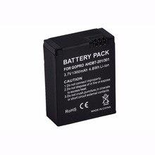 1pcs 1300mAh for GoPro AHDBT-201/301 Camera Battery for Gopro Hero 3 3+ AHDBT-301, AHDBT-201 battery for go pro Accessories