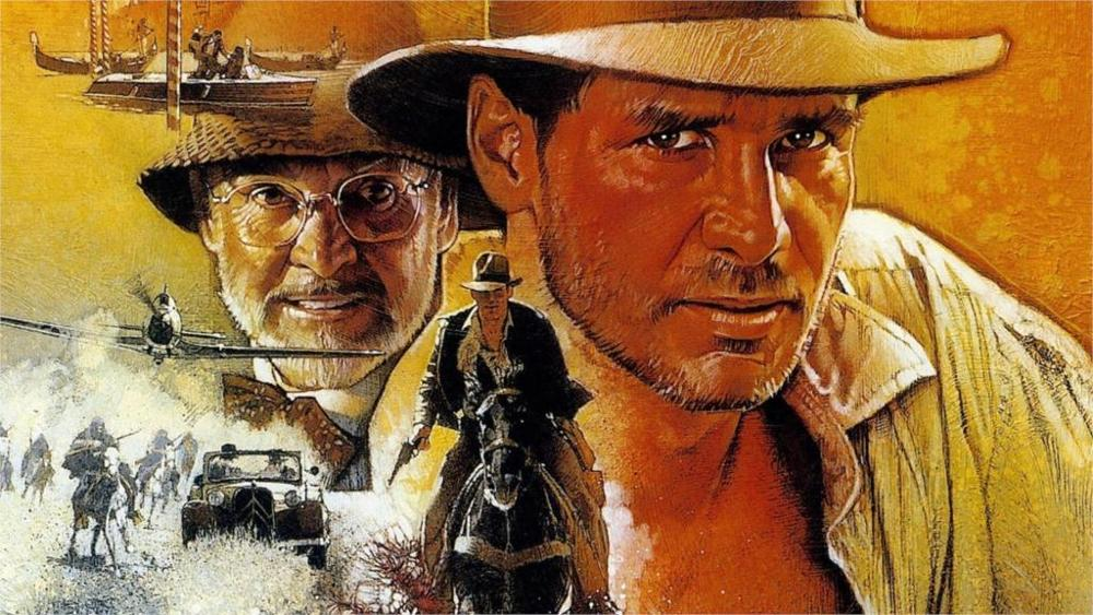 INDIANA JONES Film Poster Giclee CANVAS Wall Art Print *Choose your size