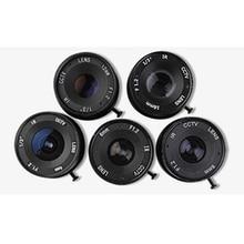 cctv lens f1.2 for cctv camera 8mm iris lens manual zoom CS interface monitoring camera lens