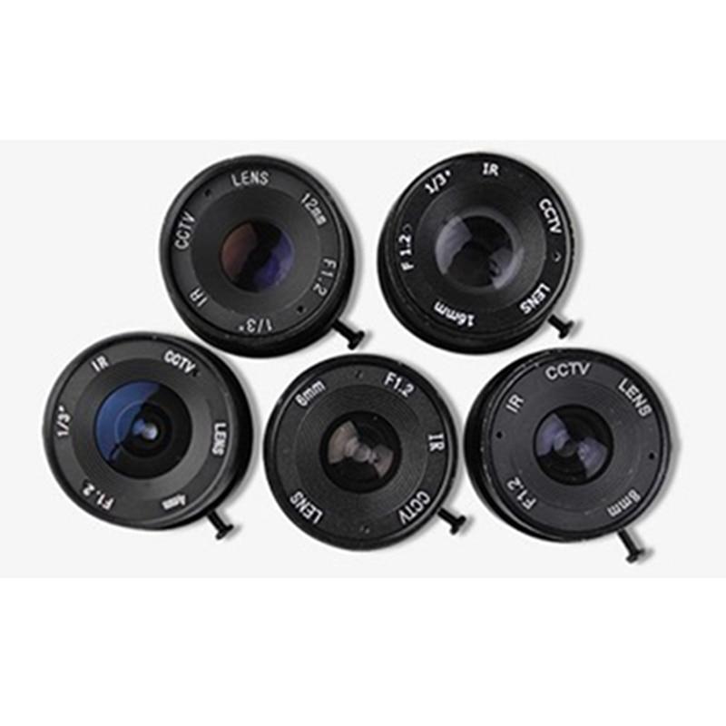 все цены на cctv lens f1.2  for cctv camera 8mm  iris lens manual zoom  CS interface monitoring  camera lens онлайн
