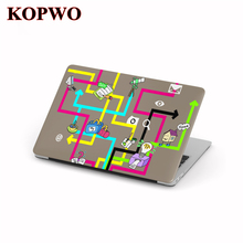 KOPWO Idea Series Laptop Protective Hard Case Computer Notebook Cover for New Apple Macbook Air Pro 11 12 13.3 15.4 Inch Retina