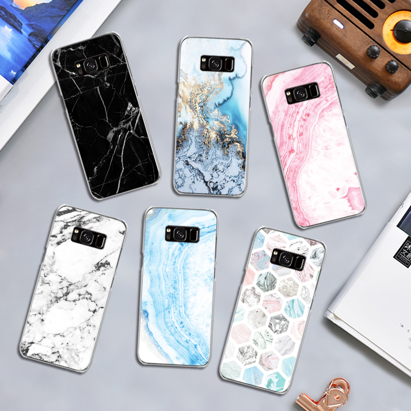 Geometric <font><b>Marble</b></font> Pattern <font><b>Case</b></font> for <font><b>Samsung</b></font> <font><b>Galaxy</b></font> J3 <font><b>J5</b></font> J7 A3 A5 A8 2015 <font><b>2016</b></font> 2017 2018 Note 3 4 5 8 Hard <font><b>Phone</b></font> Cover image
