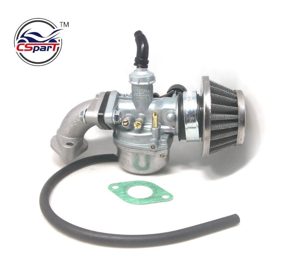 PZ19 19mm Hand Choke Carburetor Carb Intake Pipe Air <font><