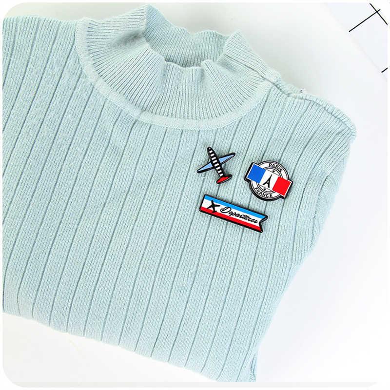 Kreatywna kreskówka pin naszywki na ubrania plecak lot anime odznaki zestaw przypinka broszka szycie kurtka przypinka biżuteria 3-4pcs