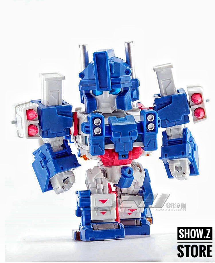 [Show.Z Store] Hero Hobby QA-01 City Captian Ultra Magnus Transformation Action Figure managing the store