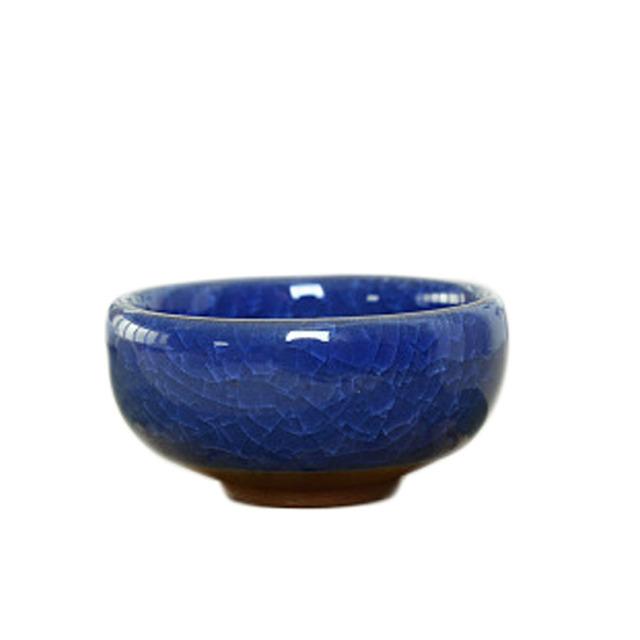 Bonsai Ceramic Flower Pot Succulent Plants Potted Desk Decor Glazed Ceramic Pot