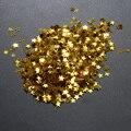 3000/6000 pcs Dicas Da Arte do Prego Estrela de Cinco pontas-Lantejoulas DIY Glitter Nail Stickers Decorações Polonês Strass Decorações Glitter