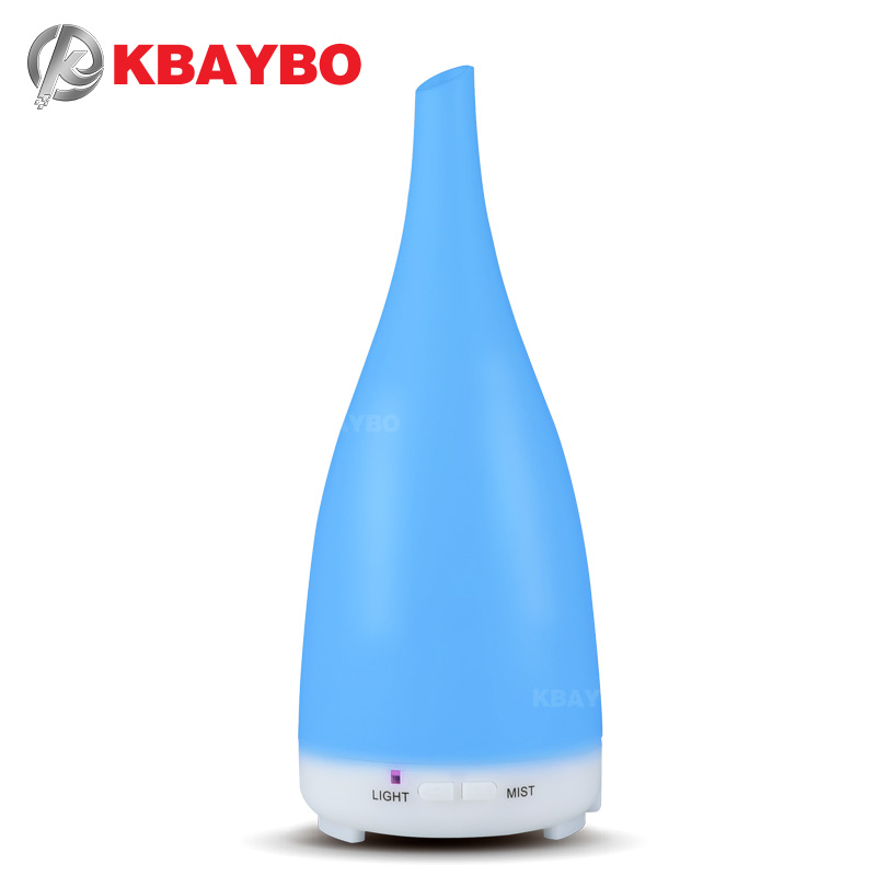 KBAYBO essential oil diffuser air humidifier cool mist maker aromatherapy 7 colors led lights for home aircondition room fogger