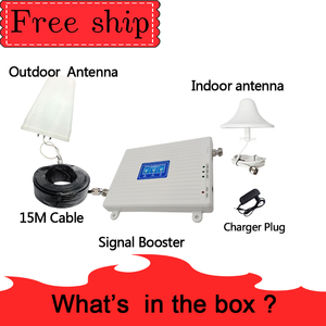 Image 5 - TFX BOOSTER GSM 900 LTE DCS 1800 WCDMA 2100mhz Triple band Cell Phone Signal Booster 2G 3G 4G  Mobile Cellular Signal Repeater