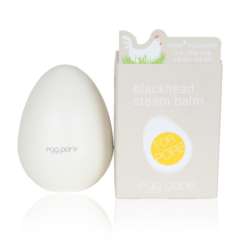 Korean Cosmetic Egg Pore Blackhead Steam Balm 30g Face Care Nose Blackhead Remover Face Black Mask Acne Treatment Peeling Mask цены