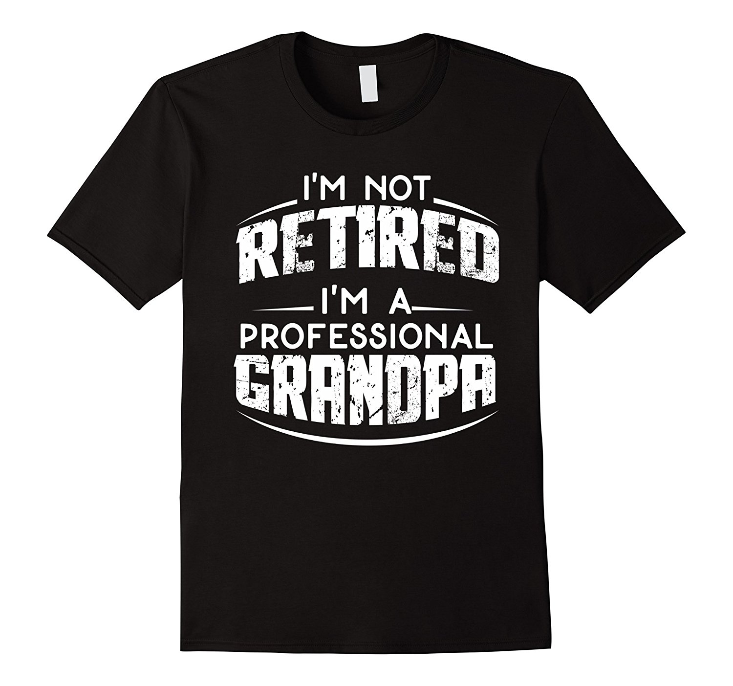 Mens Retirement Gifts for Grandpa T-Shirt, Fathers Day Gift Man Fashion Round Collar T Shirt Top Tee Personality Plus Size