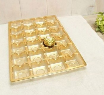 new arrival chocolate packaging box plastic tray for chocolate wedding  valentine chocolate mold decoration