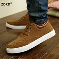 Hot !!! 2016 suede men's casual shoes, men lace canvas shoes, high quality comfortable men's shoes Zapatos de los hombres sapato