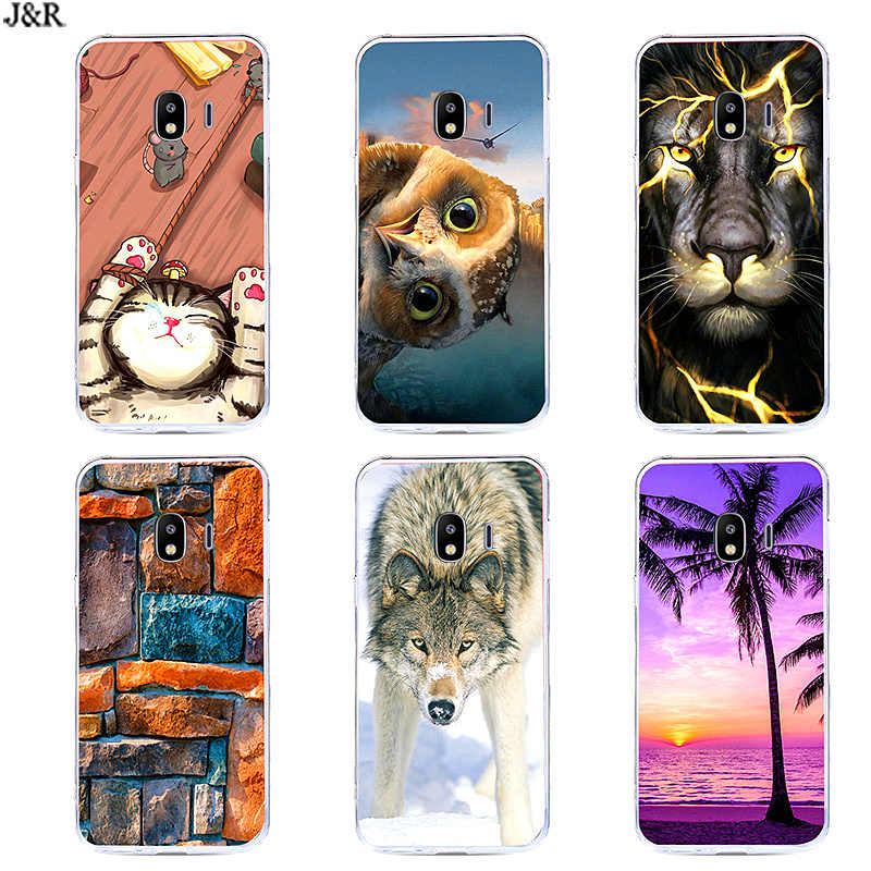 Silicone Phone Case For Samsung J2 Core Back Cover Soft TPU Cases For Samsung Galaxy J2 Core 2018 J 2 SM-J260F J260F J260 Shell