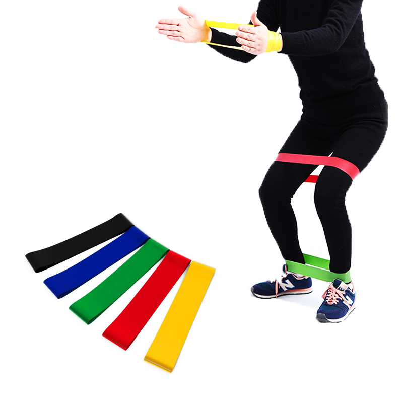 Fitness Tension Band Natural Latex Resistance Band Workout Ruber Loop Crossfit Strength Pilates Exercise Yoga Training Expander