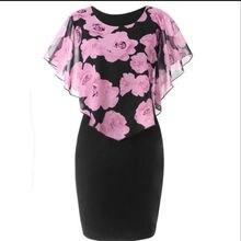 Women Floral Dress Rose Print Plus Size 2019 Evening Party Dresses for Women Sexy Bodycon Dress Plus Size Vestidos De Fiesta женское платье grace karin 50 vestidos 6093 cl6093 sexy party dresses women 2015