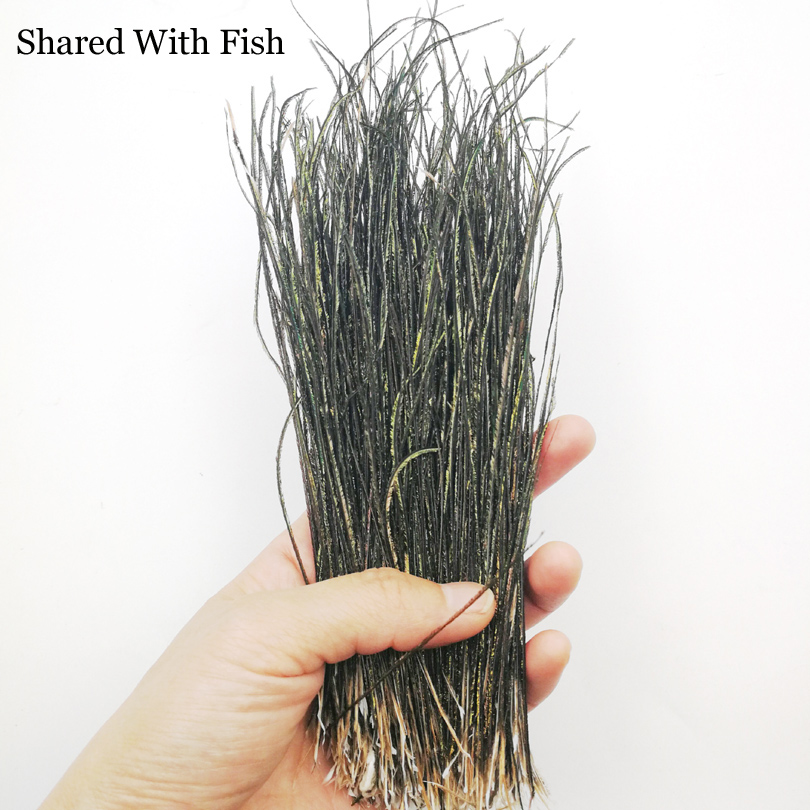 Natural Peacock 1 bag Herl Feather Wire Fly Tying Material Olive Green Fly Fishing Lure Bait Nymphs Streamers Flies Accessories free shipping fishing float damocles buoy peacock feather buoy haneda 835 14 peacock hard fishing tackle