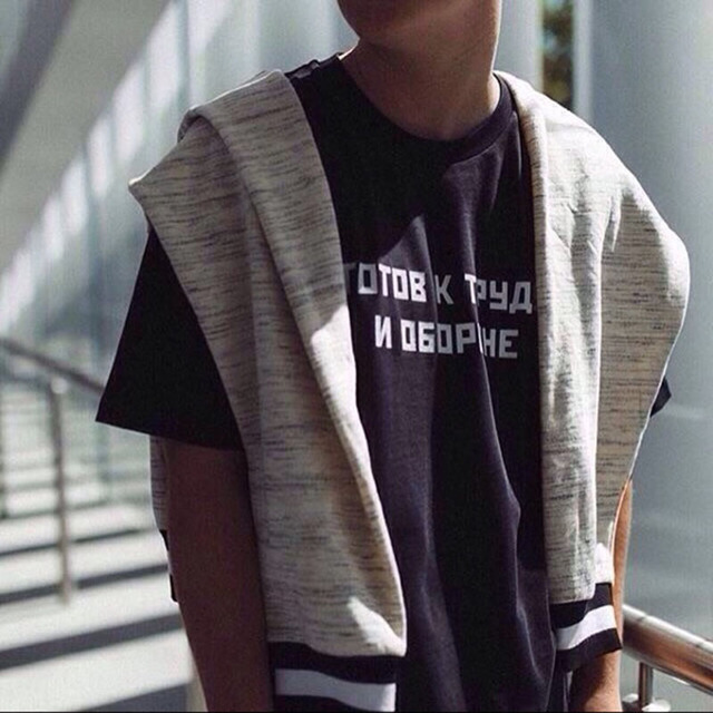 gosha rubchinskiy t shirt men justin bieber harajuku gosha tshirt